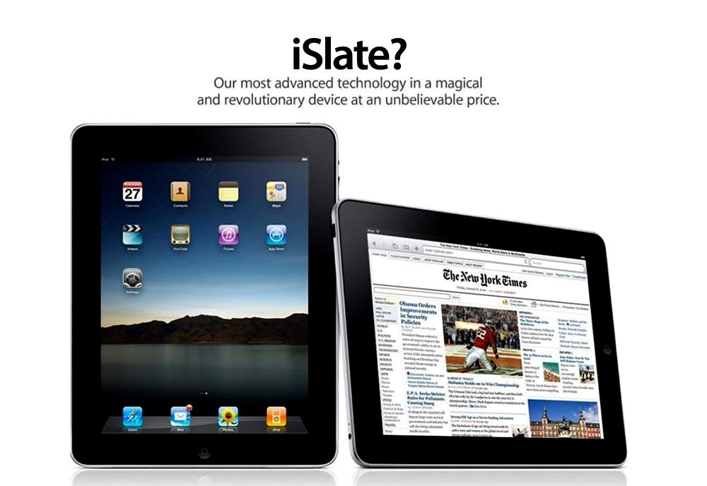 Apple - iSlate - 2010