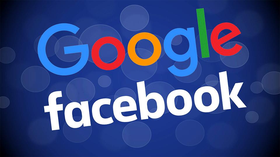 Google Facebook Logos