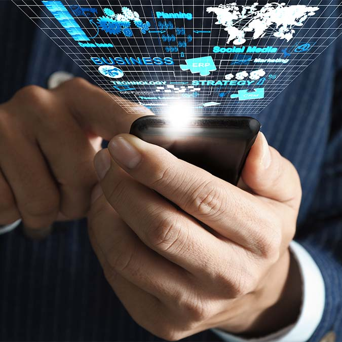 business-man-hand-use-mobile-phone-streaming-virtual-business-network