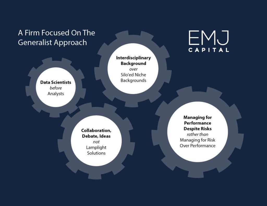 EMJ Capital - Diagram - Firm Focused on the Generalist Approach