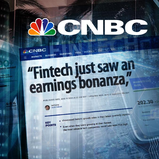 EMJ - CNBC - Article - Fintech Earnings Bonanza - 01-13-2021